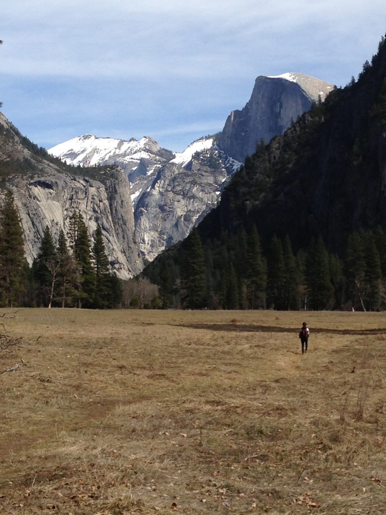 backpacking yosemite valley
