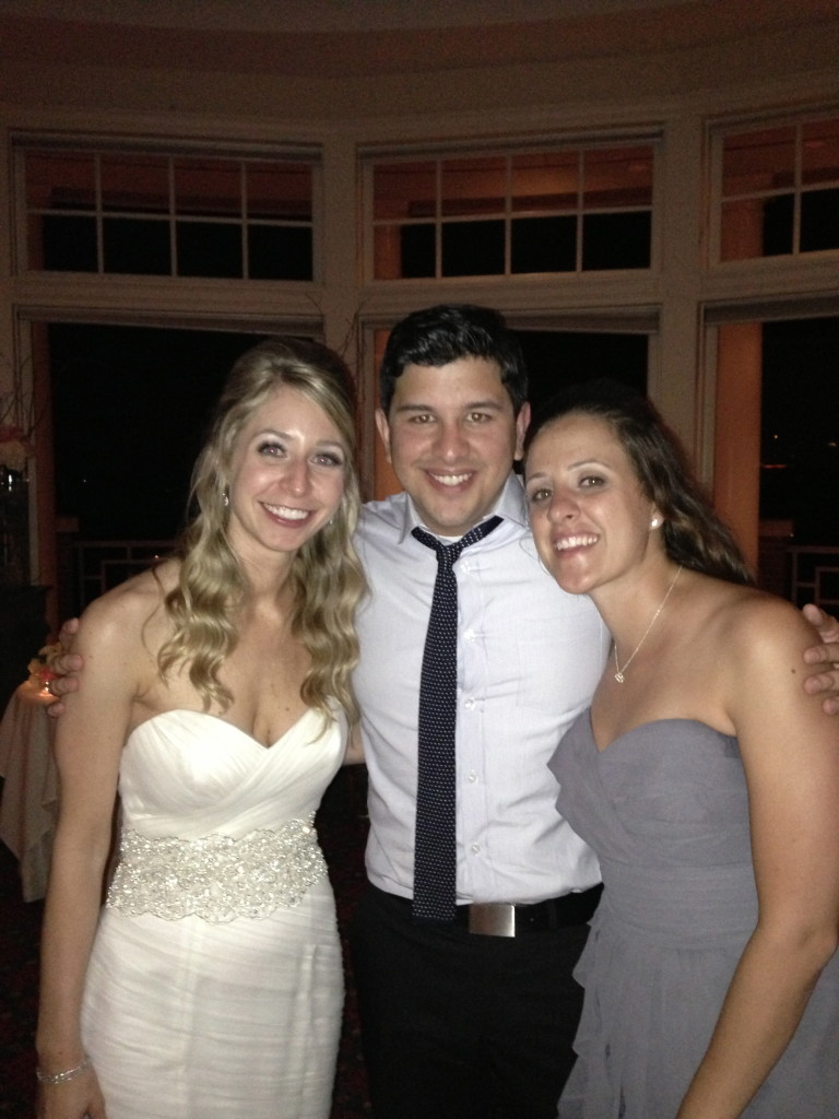 The Bride with Ruben and Gina
