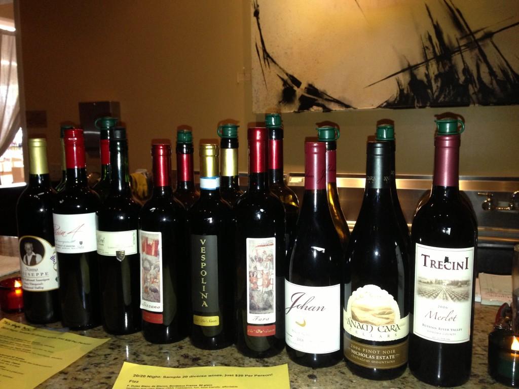 wine expo tastings