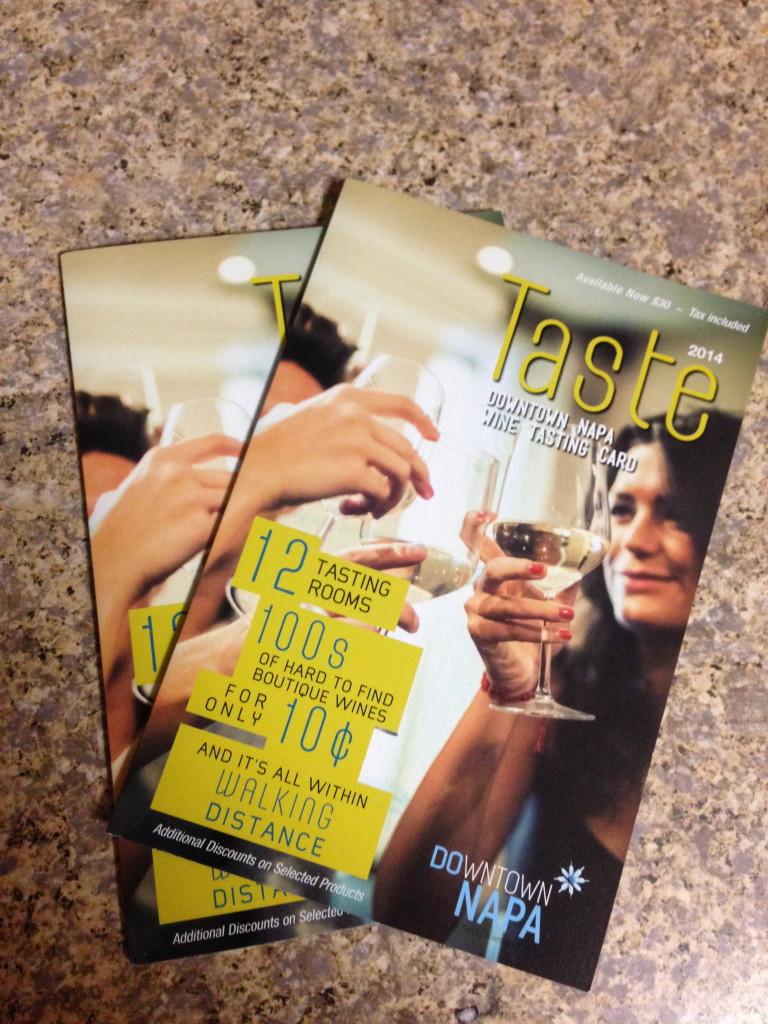 napa wine cards