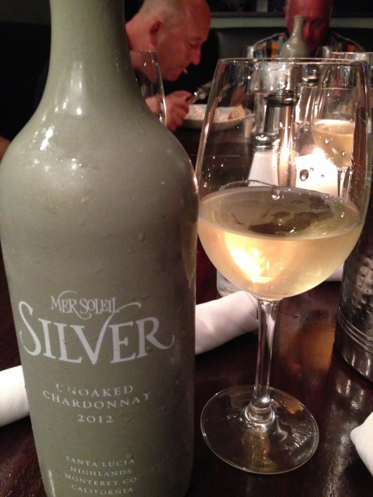 silver white wine
